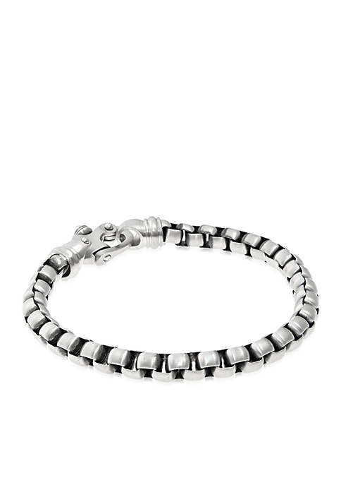 Belk & Co. Mens Stainless Steel Bracelet with
