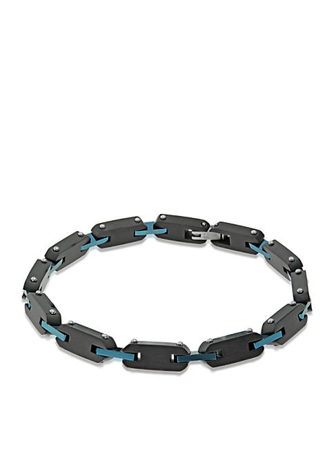 Mens Stainless Steel Link Bracelet
