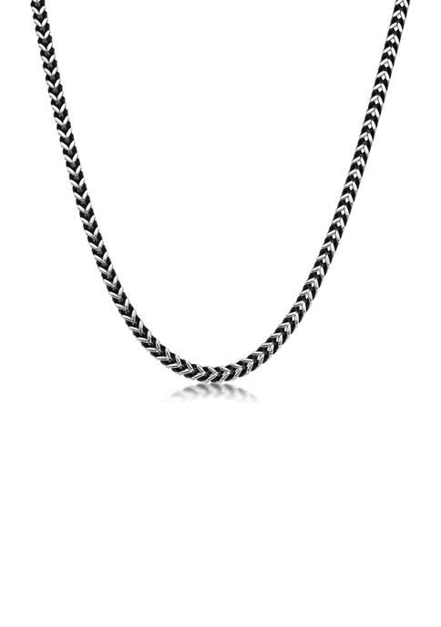 Belk & Co. Stainless Steel 4 Millimeter Foxtail