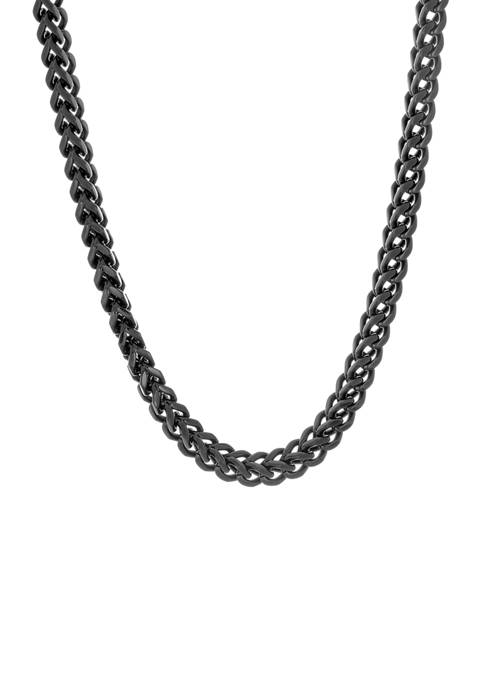 Belk & Co. Stainless Foxtail Chain Necklace