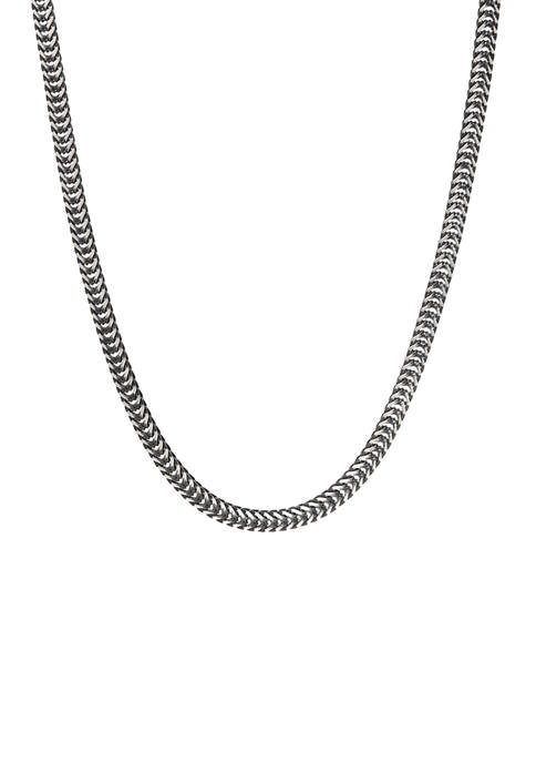 Belk & Co. Stainless Steel 24 Inch Chain