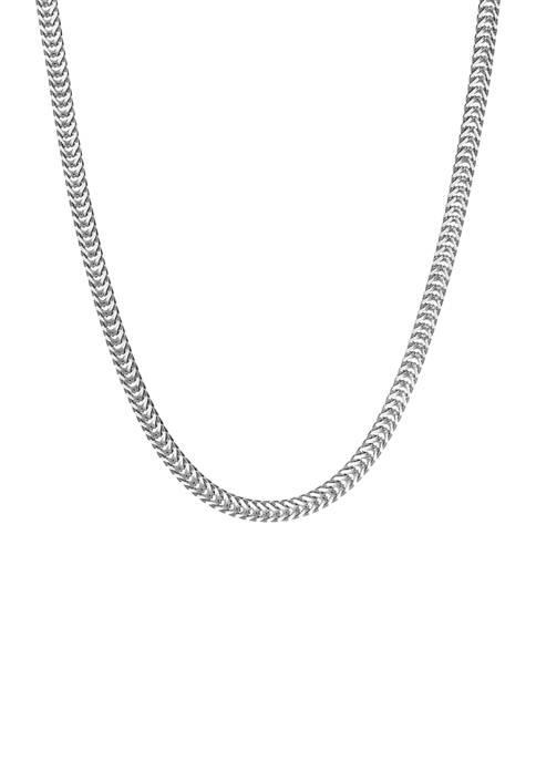 Belk & Co. Stainless Steel 6 Millimeter Snake
