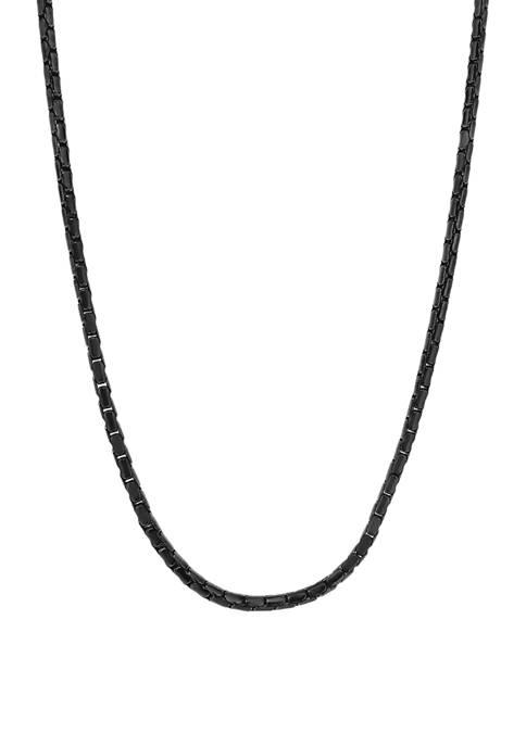 Belk & Co. Stainless Steel 2.5 Millimeter Snake