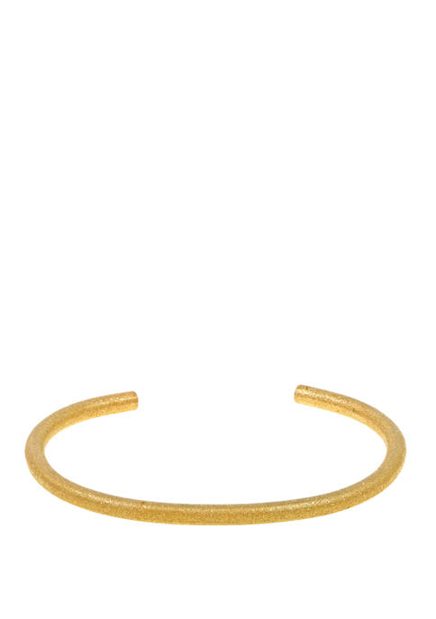 Belk & Co. Stainless Steel Cuff Bangle with