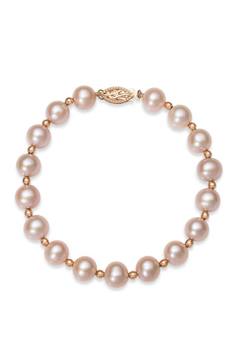 Belk & Co. Natural Pink Cultured Freshwater Pearl