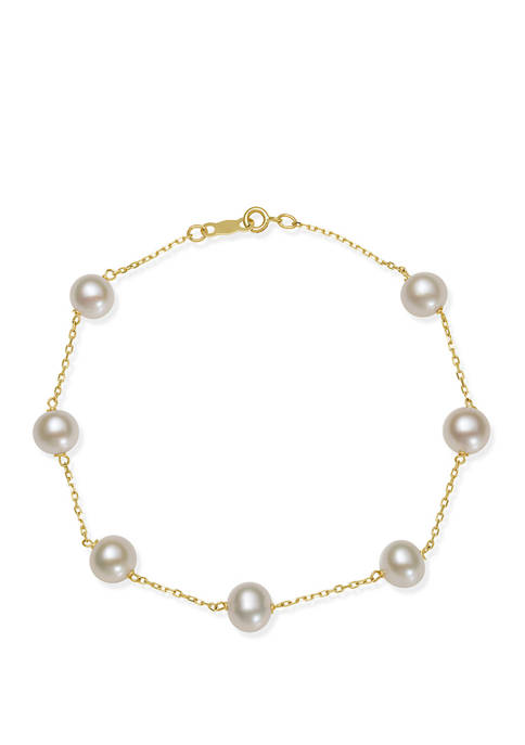 Belk & Co. 6-7 Millimeter Cultured Freshwater Pearl