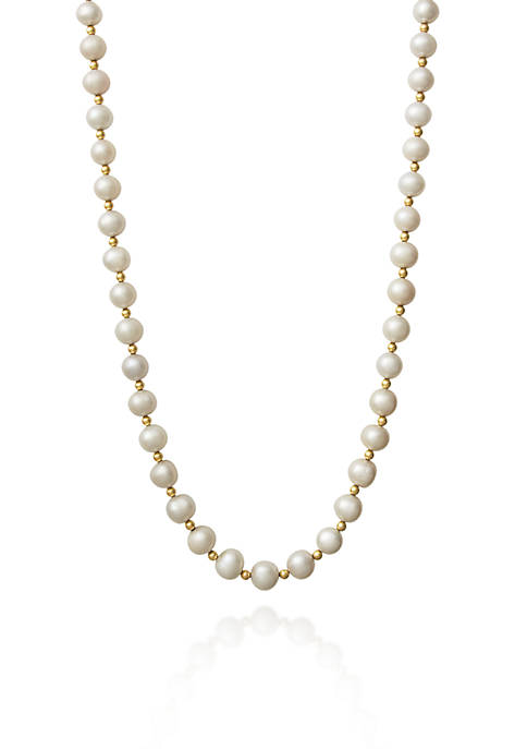 Amour de Pearl 14k Yellow Gold Freshwater Pearl
