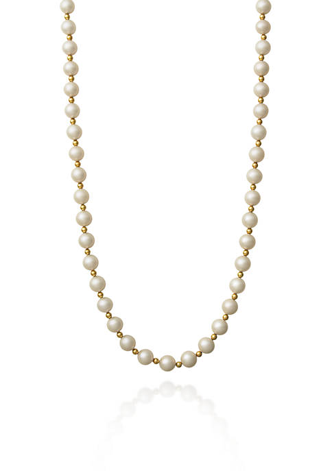Belk & Co. 14k Yellow Gold Freshwater Pearl
