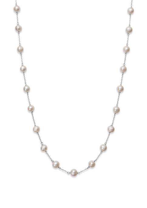 Belk & Co. 6-7 Millimeter Cultured Freshwater Pearl