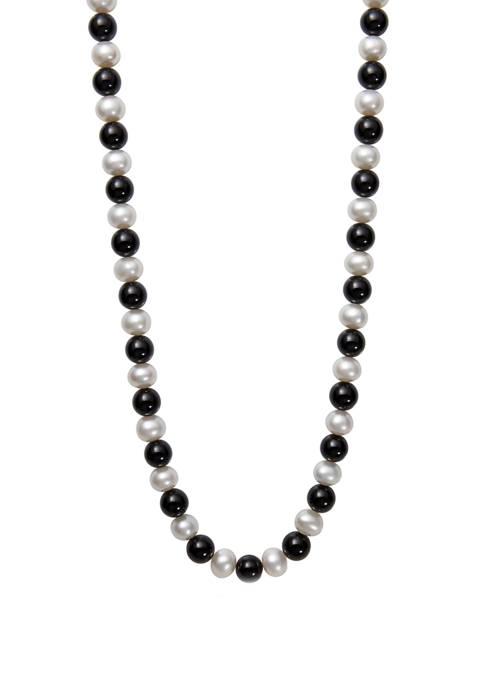 Belk & Co. 8-9 Millimeter Cultured Freshwater Pearl
