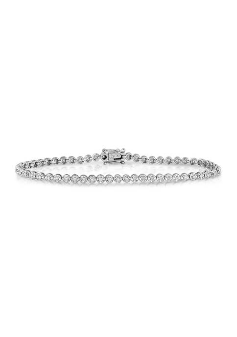 Diamour 1/2 ct. t.w. Diamond Tennis Bracelet in