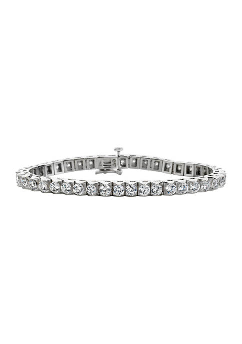 Diamour 8 ct. t.w. Diamond Tennis Bracelet in
