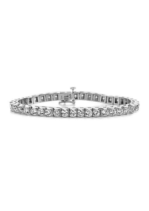 Diamour 3 ct. t.w. Round Cut Diamond Ribbons