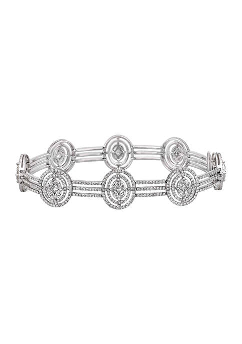 Diamour 5 ct. t.w. Princess Marquise and Round