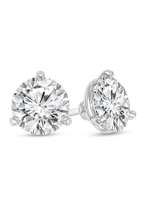 Diamour 1/4 ct. t.w. Certified Diamond Solitaire Stud
