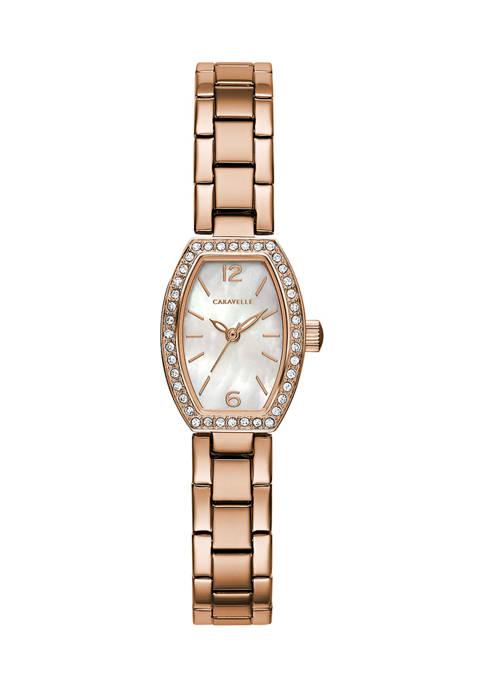 Caravelle by Bulova Dress Stainless Steel Bracelet Watch