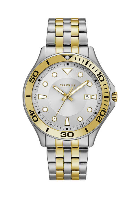 Caravelle by Bulova Sport Stainless Steel Bracelet Watch