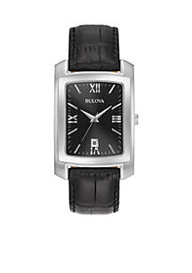 Men's Crocodile Leather Watch