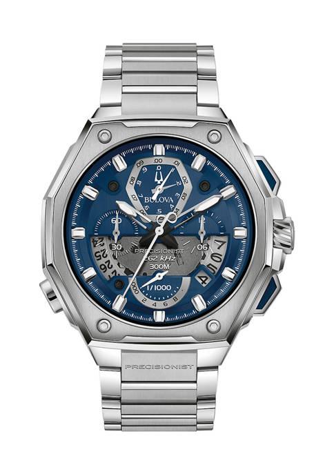 Bulova Stainless Steel Precisionist Bracelet Watch