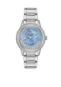 Women's Stainless Steel Turnstyle Bracelet Watch 32mm
