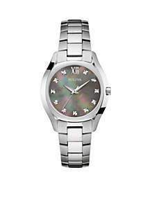 Women's Stainless Steel Diamond Dial Bracelet