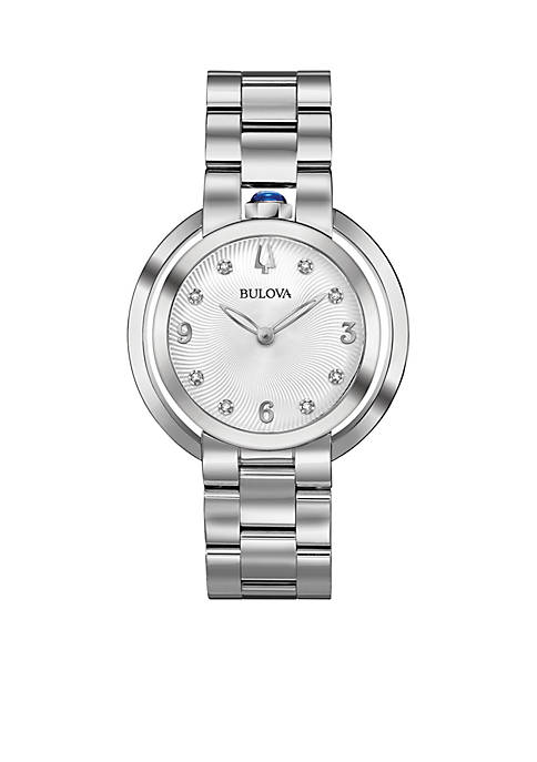 Bulova Womens Rubiayat Watch