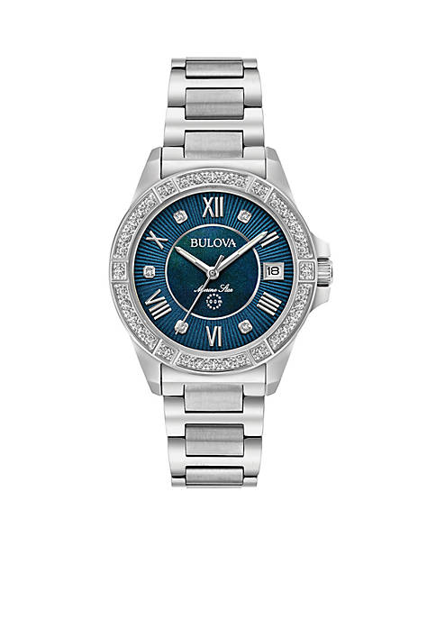 Bulova Marine Star Diamond Watch