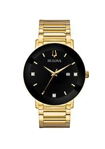 Men's Gold-Tone Modern Watch