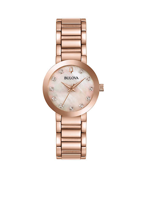 Bulova Diamond Modern Watch