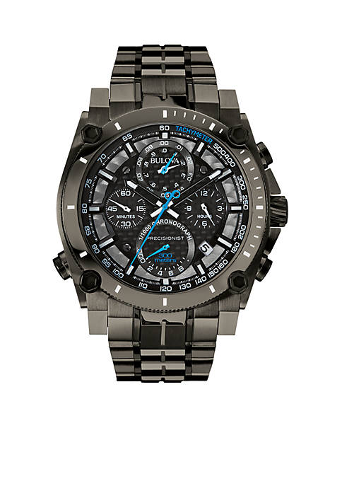 Bulova Mens Gunmetal Precisionist Watch
