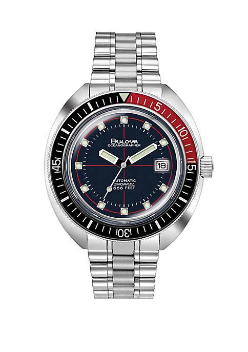Bulova Stainless steel Oceanographer Devil Diver Watch