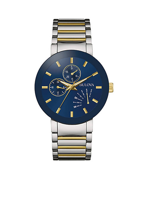 Bulova Mens Classic Two-Tone Watch