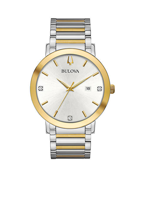 Bulova Mens Modern Diamond Watch