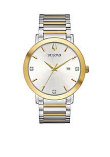 Men's Modern Diamond Watch