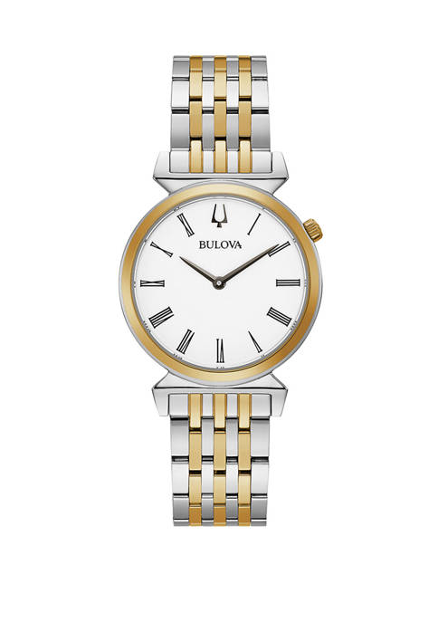 Womens Regatta 2 Tone Stainless Steel Bracelet Watch