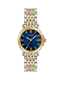 Women's Classic Two-Tone Watch