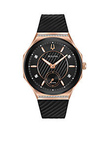 Women's Rose Gold-Tone Curv Watch