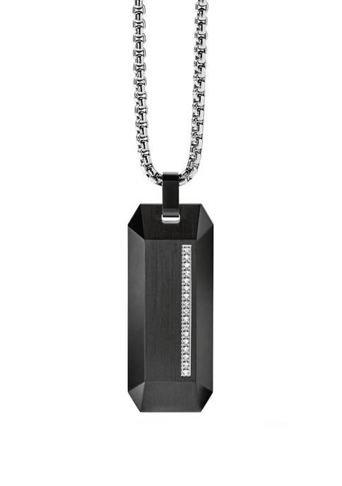 Stainless Steel Diamond Necklace