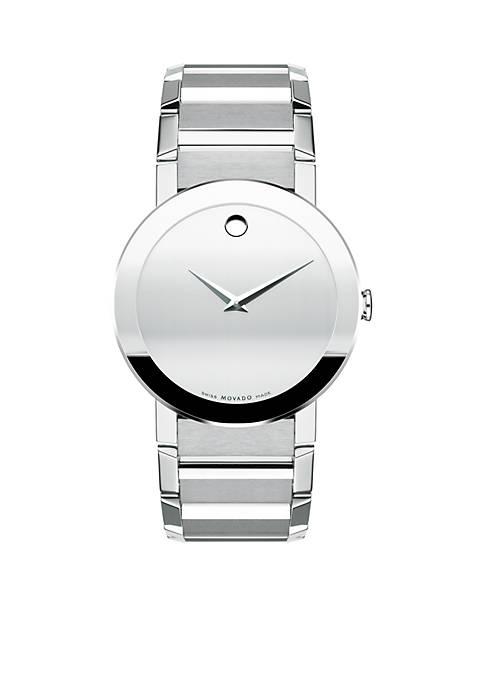 Mens Sapphire Grey Watch