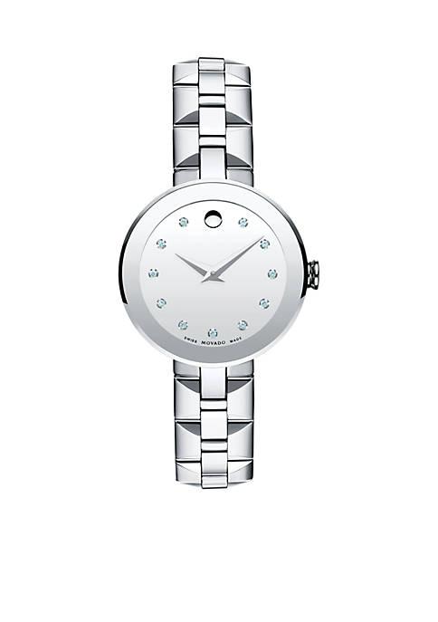 Movado Womens Sapphire Watch