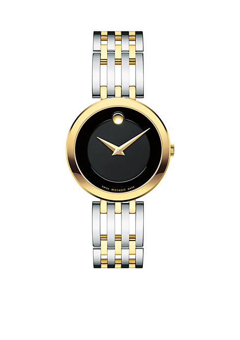 Womens Esperanza Matte Black Watch