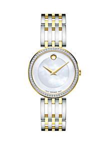 Two-Tone Stainless Steel Esperanza Bracelet Watch