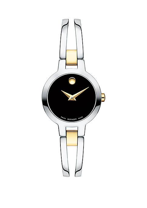2-Tone Analog Watch