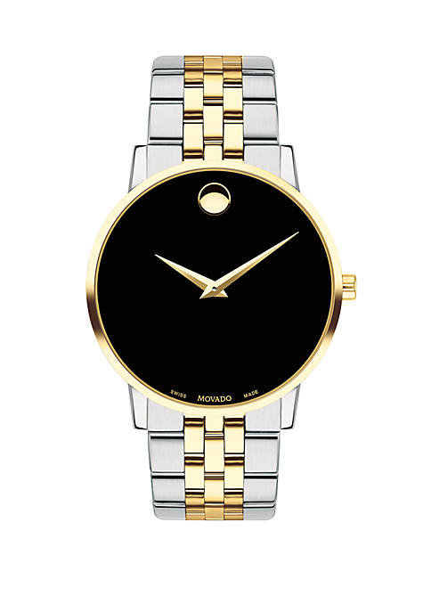 Movado 2-Tone Stainless Museum Classic Bracelet Watch
