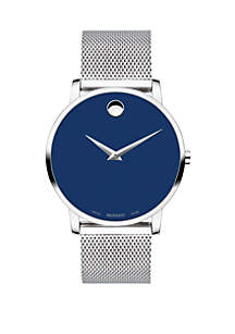 Movado Stainless Steel Museum Classic Watch
