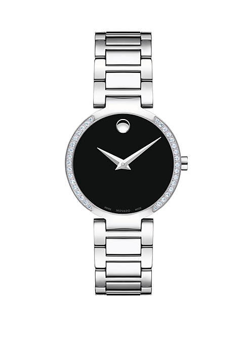 Movado Womens 28 Millimeter Stainless Steel Modern Classic