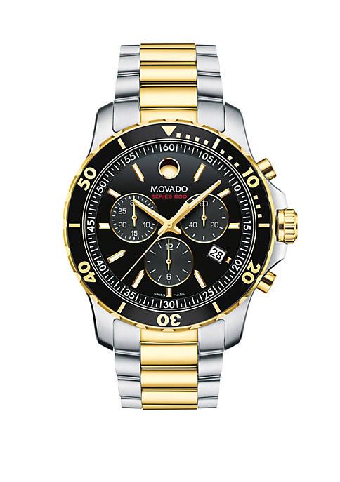 2-Tone Stainless Steel Series 800 Bracelet Watch