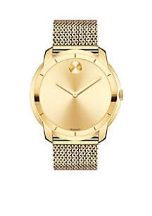 Men's Bold Yellow Gold-Tone Watch