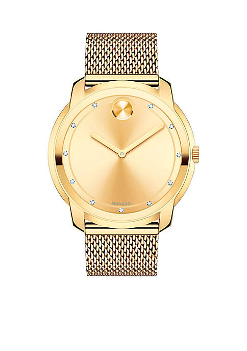 Mens Large Movado Bold Watch