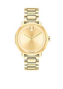 Women's Yellow Gold Sugar Watch